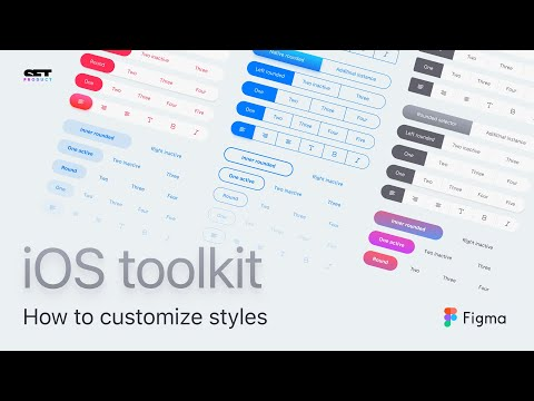 Figma iOS kit  Design system for mobile apps - YouTube