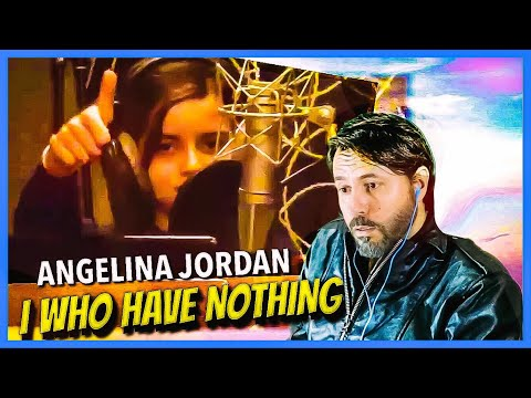 REACTION | Angelina Jordan - I Who Have Nothing | IS SHE FOR REAL?!?!