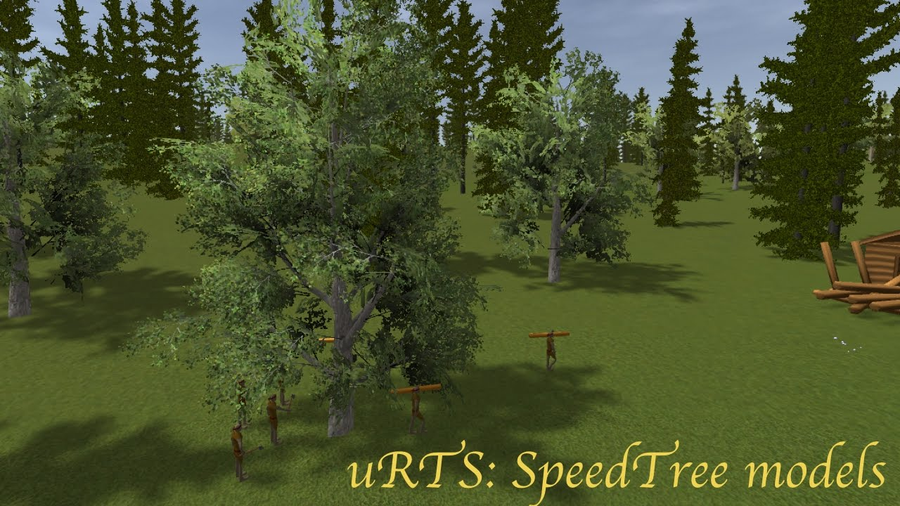 [Unity3d] How to use SpeedTree models in uRTS