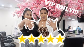 GOING TO THE BEST RATED NAIL SALON IN MY CITY (VIP ONLY!!!)