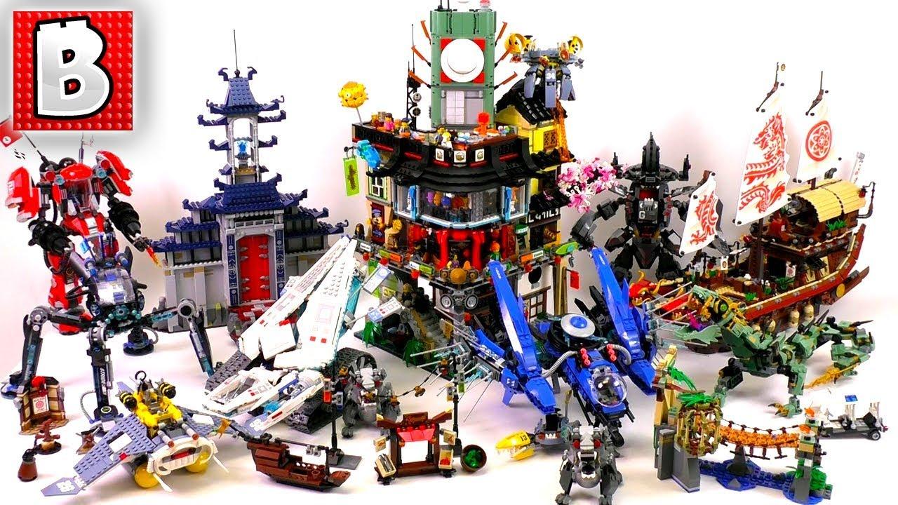All Lego Ninjago Movie Sets Wave 1 Summary Review Youtube