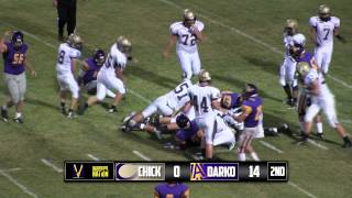 Warrior Vision - 2014 Anadarko vs. Chickasha (Football Highlights)