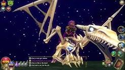 Wizard101 opening dragons hoard pack w/Bone dragon mount