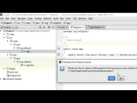 How to import GITHUB project in IntelliJ IDEA - YouTube