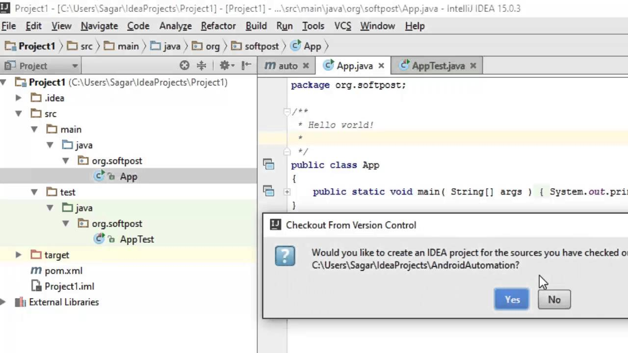 How to import GITHUB project in IntelliJ IDEA