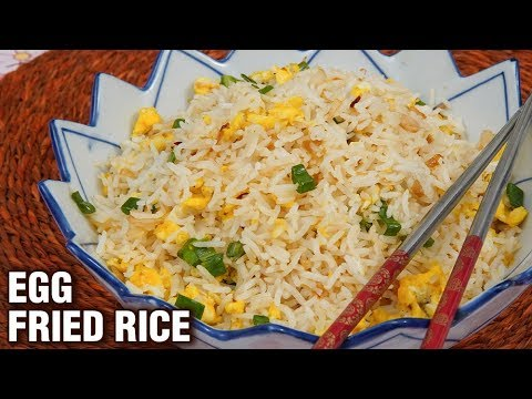 Egg Fried Rice Recipe - Quick & Easy Fried Rice Recipe - Indo-Chinese Recipe -  Tarika