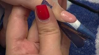 Наращивание ногтей с гелевой системой .ibd. Гелевый френч
