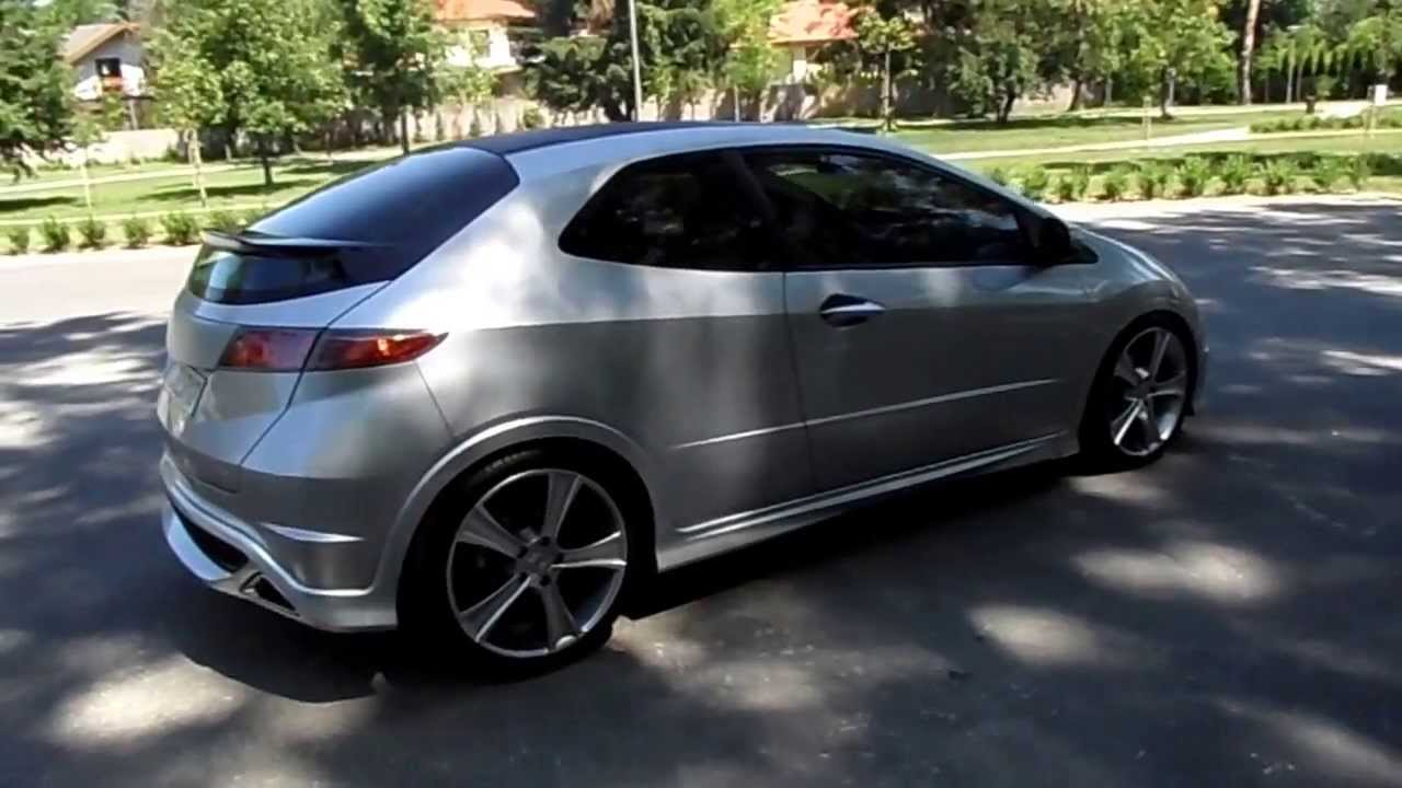 honda civic tuning 2008 fn 2 youtube. Black Bedroom Furniture Sets. Home Design Ideas