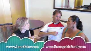 Jane Orlov interviews Brian & Rhonda Swan Unstoppable Family they earn lots of money traveling
