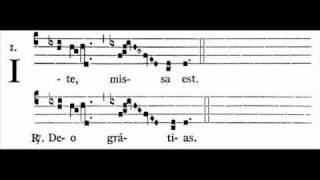 Missa XI (Orbis factor) - Ite missa est