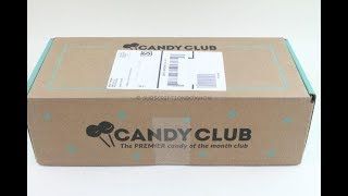 Candy Club November 2018 Candy Box Unboxing/Tasting + $20 Coupon Code