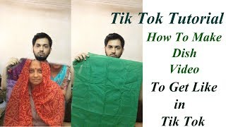 Tiktok Video Editing Tutorial | Play Mother Photo In Bed Sheet Video Editing