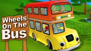 Download Lagu Roda Roda Bus | Wheels On The Bus in Indonesian | roda di bus | Lagu Anak Anak | Farmees Indonesia mp3