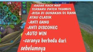 Hack radar Map Mobile Legend Patch Thamus tanggal 20 September 2018