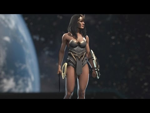 Injustice 2 101 Gear Options for Wonder Woman