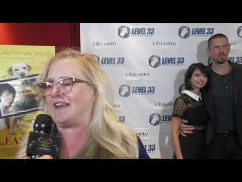 UNLEASHED Premiere - Carpet Chat with NANCY CARTWRIGHT
