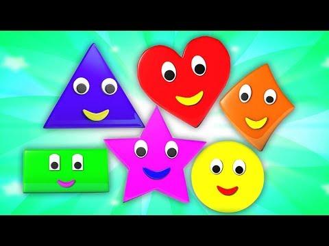 formen-lernen-für-kinder-|-bildung-für-kinder-|-geometrische-formen-zeichnen-|-shapes-song-in-german