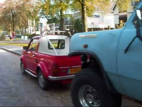fiat 126p bis pickup truck vs dodge pickup truck youtube. Black Bedroom Furniture Sets. Home Design Ideas