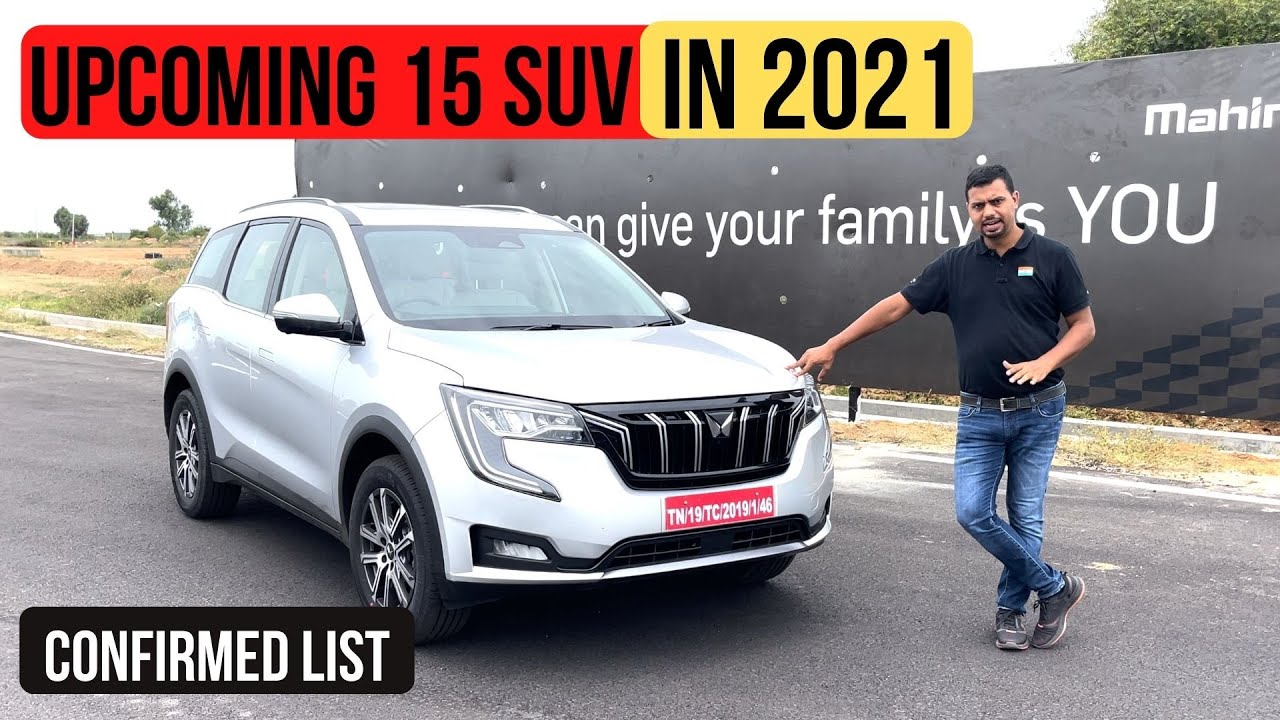 Top 15 Upcoming SUV In 2021 In India [Confirmed List]