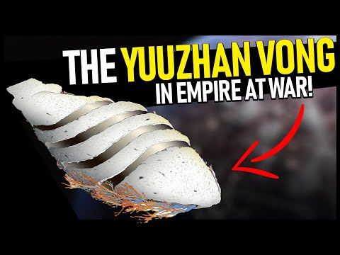 The YUUZHAN VONG In Empire At War! -- Trying The New Jedi Order Mod!