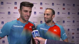 Cabal/Farah Share Thoughts After Reaching Semi-finals At The 2018 Nitto ATP Finals
