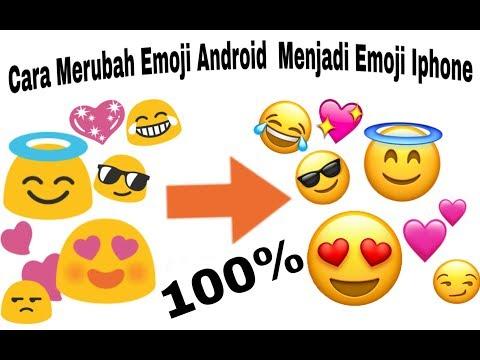 Cara Merubah Emoji Android Menjadi Emoji Iphone