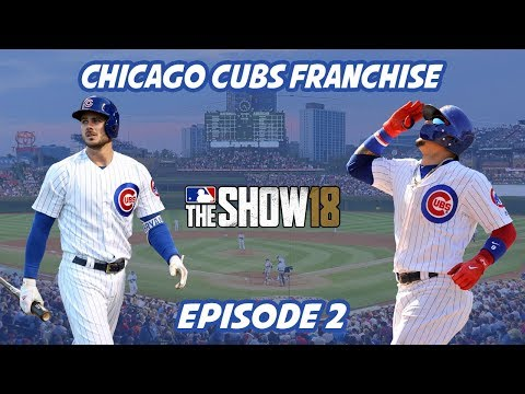 Trading for the #1 MLB Prospect! Opening Day! Chicago Cubs Franchise Episode 2 - MLB The Show 18