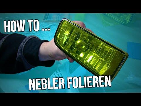 How to - Folieren der Nebelscheinwerfer [German/Deutsch] - YouTube