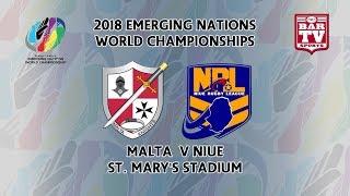 2018 Emerging Nations World Championships - Pool A - Malta v Niue