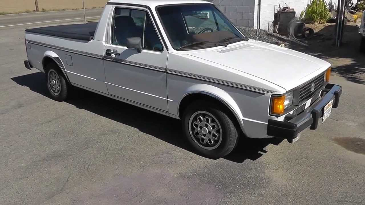 82 vw pickup diesel caddy youtube. Black Bedroom Furniture Sets. Home Design Ideas