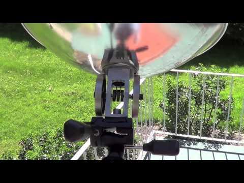 Sun Motor solar powered stirling engine