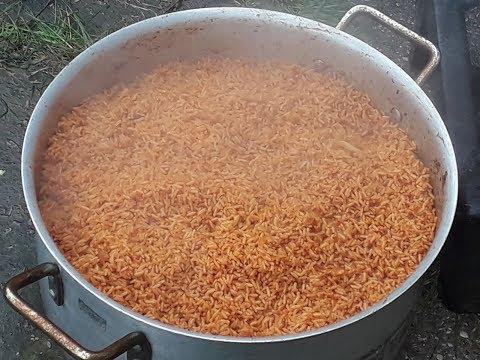 How to make party Jollof rice