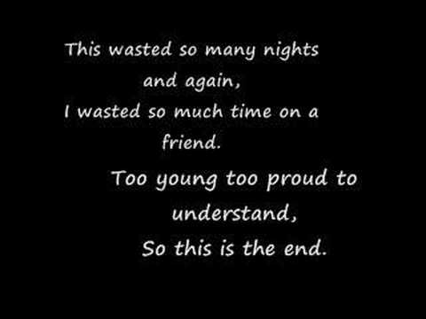 Story of the Year - Razorblades [Lyrics]