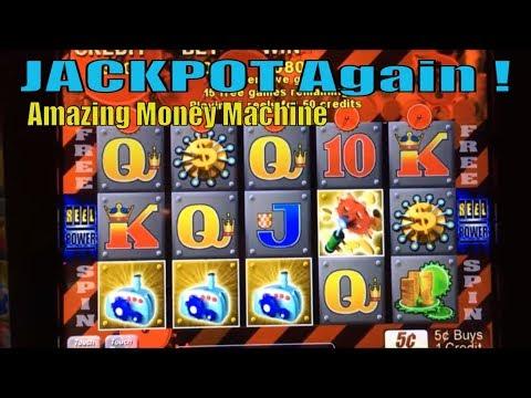 ★AMAZING JACKPOT Again !!☆Amazing Money Machine Slot machine & Cleo 2  Play & Bonus☆彡San Manuel