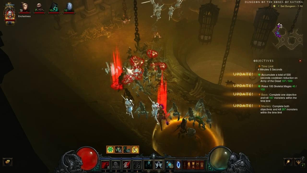Diablo 3 necromancer set dungeons