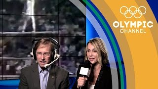 Nadia Comaneci & Bart Conner Commentate on Their Perfect Olympic Routines   Take the Mic