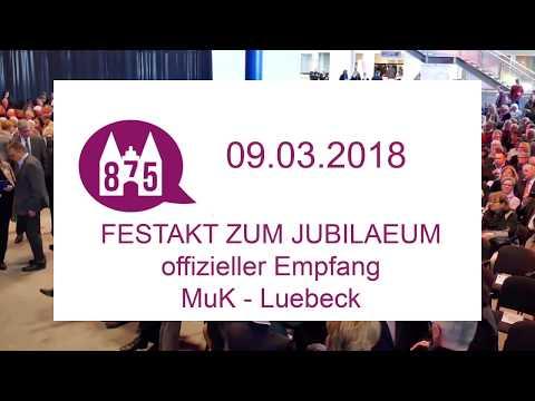 ... offizielle Eroeffnung Geburtstagsfeierlichkeiten -  875 Jahre Luebeck in der MuK