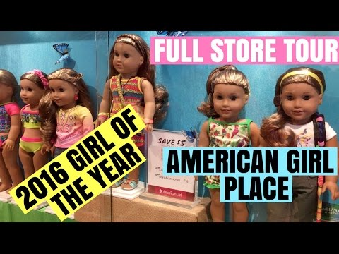 2016 Girl Of The Year - Buying Lea Clark & Full American Girl Place Tour