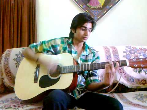 Atif\'s Aadat by Harsh (Cover+lessons+chords) - YouTube