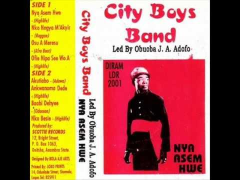 J.A. Adofo City Boys Band - Nya asem hwe