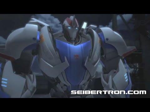 "TRANSFORMERS PRIME: SEASON TWO  ""New Recruit"" video clip"