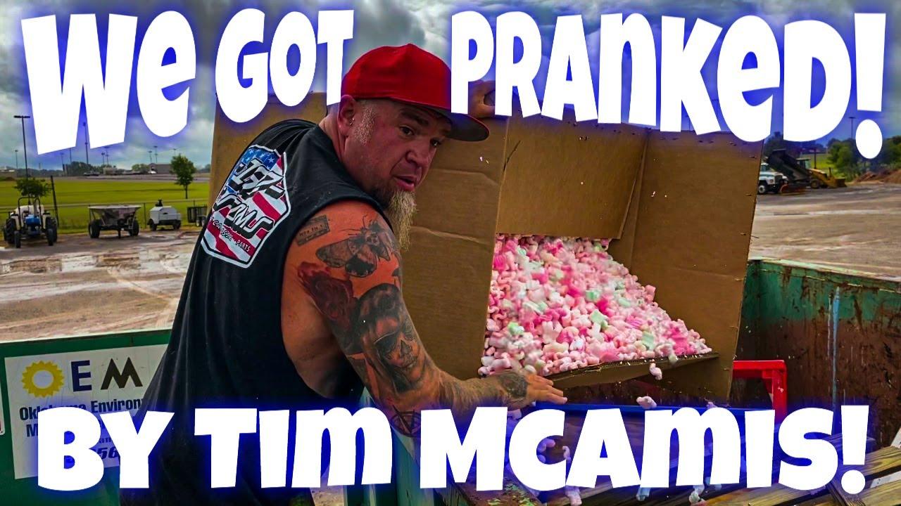 We Got Pranked HARD By Tim McAmis! Do NOT Waste Tim's Time LOL