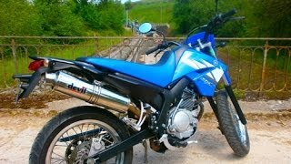 yamaha xtx 125 with devil racer without db killer