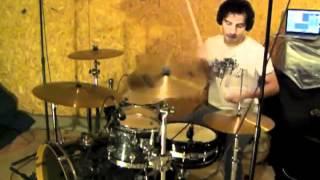 Grande y Fuerte Miel San Marcos  Daniel Meza Drums Cover