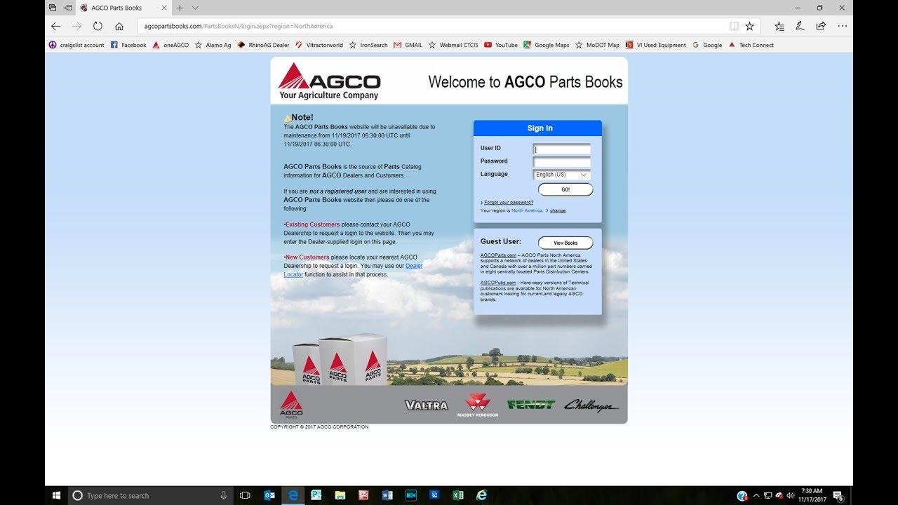 AGCO Parts: Online Parts Books for Massey Ferguson & AGCO Heritage ...