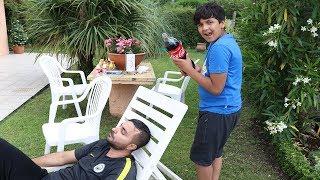 Prank Coca Cola sur papa ,adel sami les boys tv