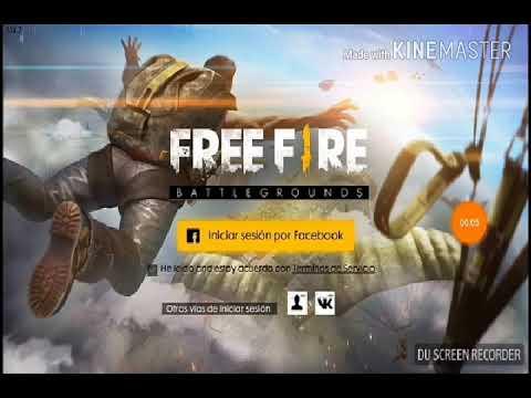 como crear una cuenta en free fire
