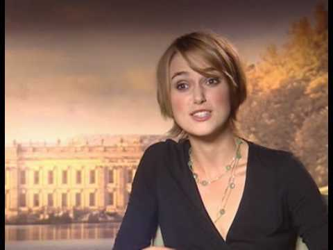 Pride & Prejudice Keira Knightley Interview - YouTube