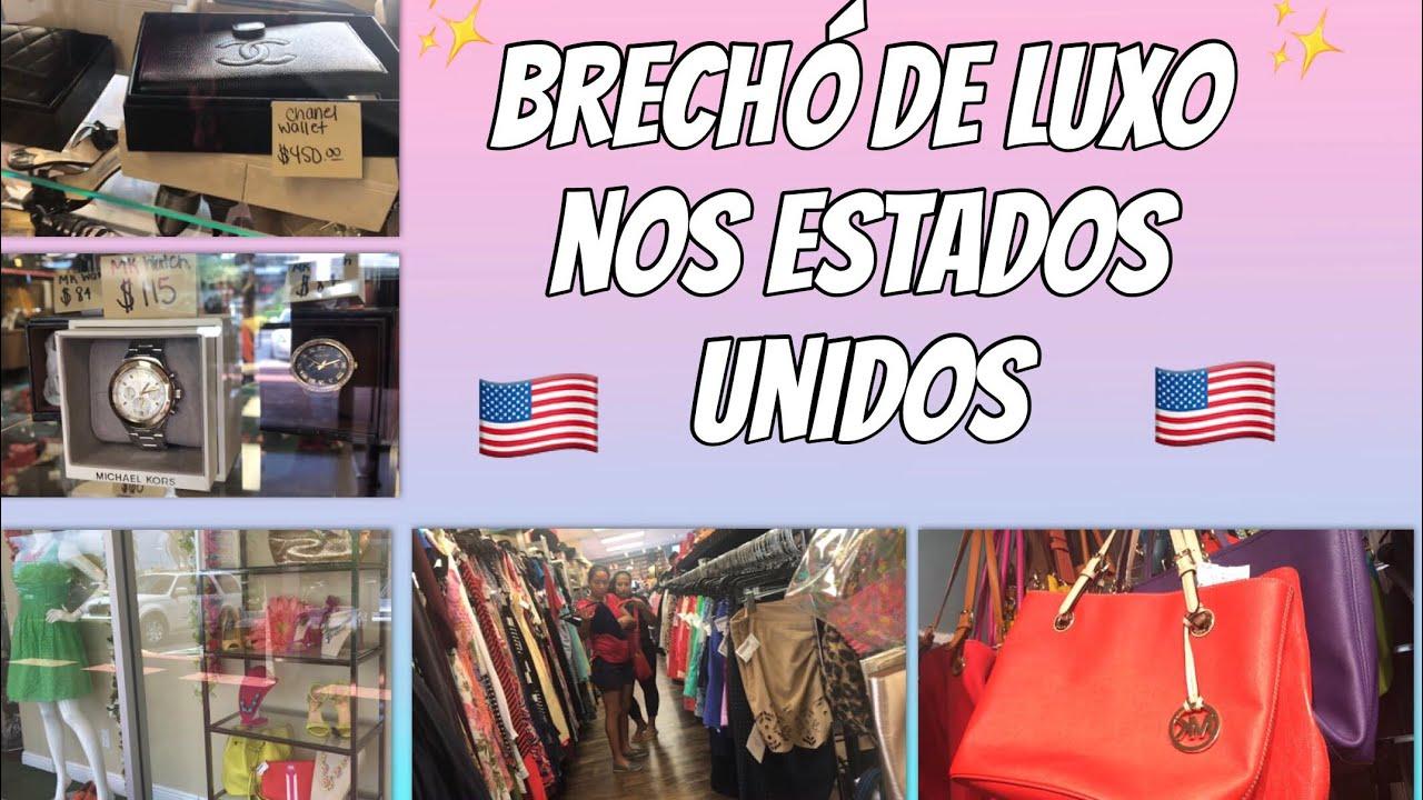 ca3e0a30aba BRECHÓ DE LUXO NOS ESTADOS UNIDOS - YouTube