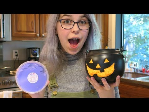 HALLOWEEN TRILL SLIME REVIEW   RADIOJH AUDREY